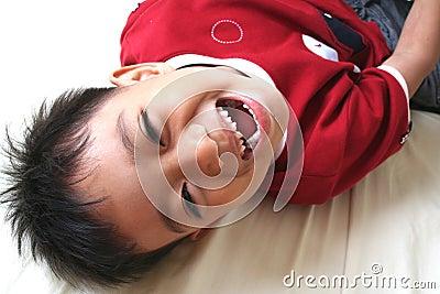 Young happy boy 1