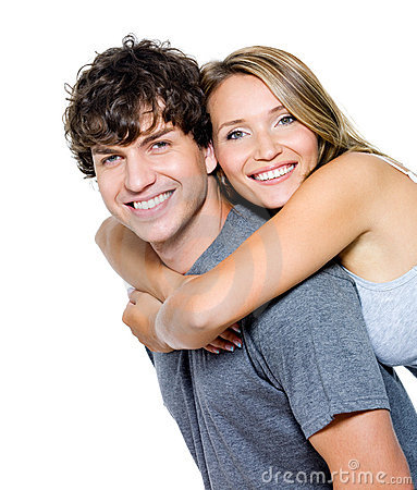 Free Young Happy Couple Stock Photography - 22946042