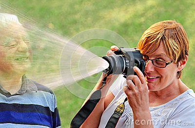 Young at heart senior fun
