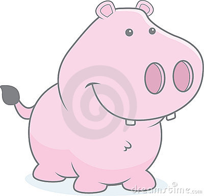 Free Young Hippo Royalty Free Stock Photo - 10492535