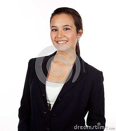 Young Hispanic Female Professional
