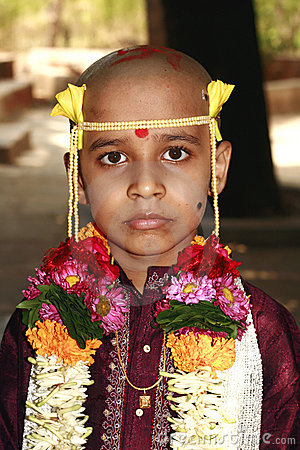 Young Indian boy