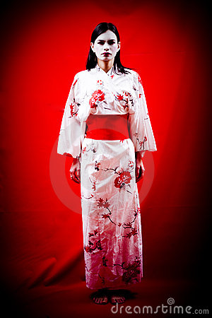 Young Japanese Geisha