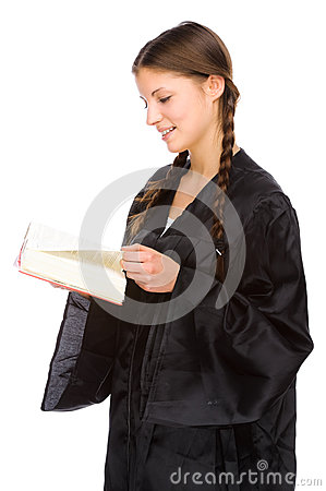 Young Judge Royalty Free Stock Photography - Image: 25115447