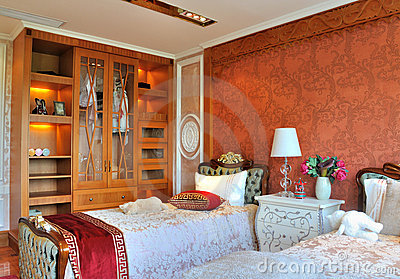 Young kids bedroom and closet