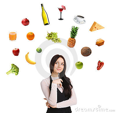 Free Young Lady Choosing From A Variety Of Products Stock Photos - 14083393