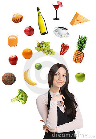 Free Young Lady Choosing From A Variety Of Products Stock Photography - 14083402