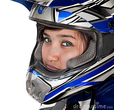 Young Latina Racer