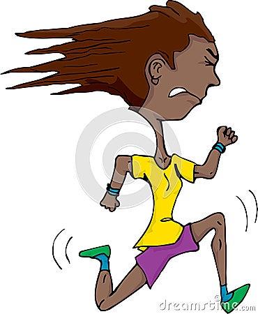 Young Latina Runner