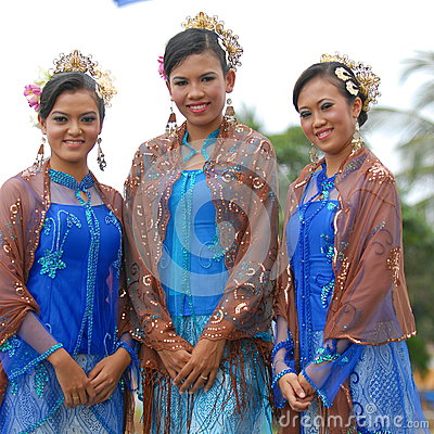 Young malay teens Editorial Stock Image