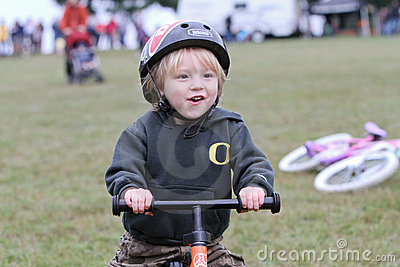 Young Male Bicycle Racer During Cycloross Event Editorial Photo