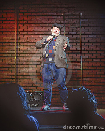 Free Young Male Standup Comedian Royalty Free Stock Image - 8416306