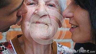 Granny Tongue Kissing