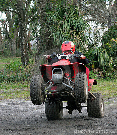 Young Man on ATV