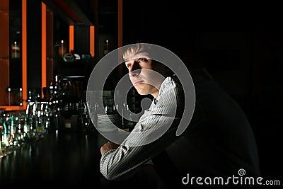 Young Man at the Bar