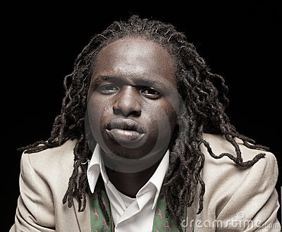 African American Man With Dreadlocks Hairstyle Stock Photo 52060831 ...