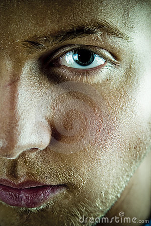 Free Young Man Face And Eye Stock Photo - 1698440