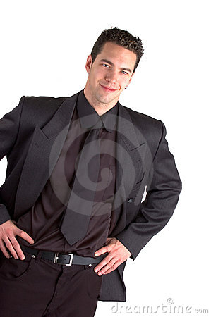 Free Young Man In Suit Royalty Free Stock Photography - 465567