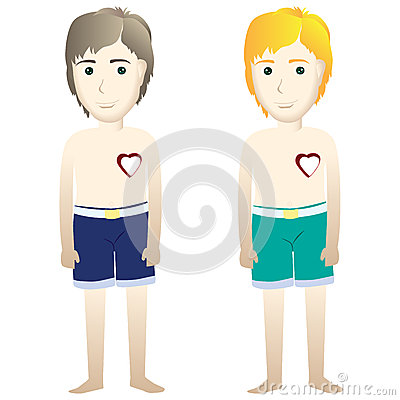 Free Young Man Lost Heart (broken Heart) Stock Photography - 42503852