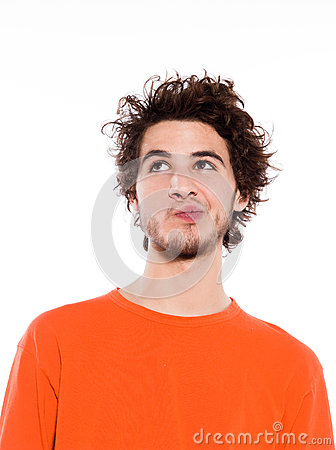 Free Young Man Portrait Royalty Free Stock Image - 25322596