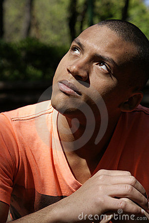 Free Young Man Praying Stock Image - 11067001