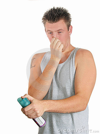 Free Young Man Rotten Smell Stock Photo - 575140
