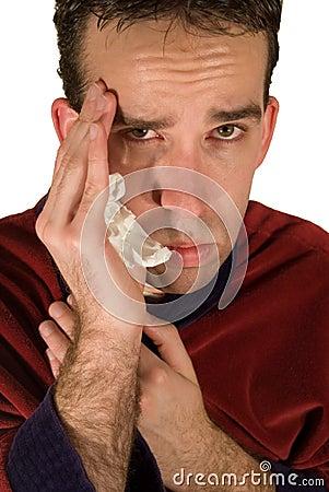 Young Man s Headache