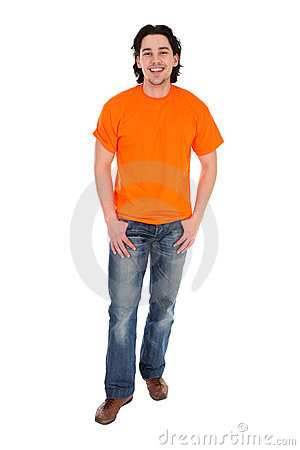 Free Young Man Standing Royalty Free Stock Images - 4851529