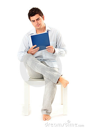Free Young Man With Documents Royalty Free Stock Images - 20304549