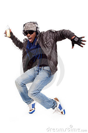 Free Young Men Dancing Royalty Free Stock Photo - 24228955