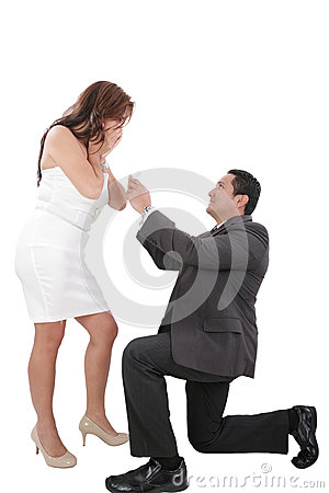 Wedding or engagement proposal