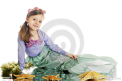 Young Mermaid Beauty