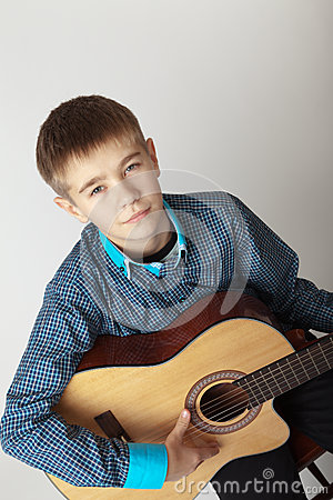 Free Young Musician Stock Photo - 27488580