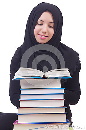 Young muslim female