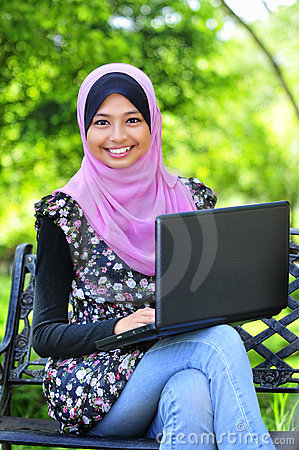 A Young Muslim Women
