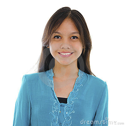 Young Pan asian teen