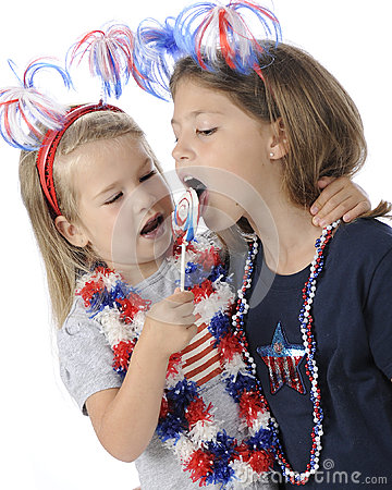 Young Patriots Sharing Licks