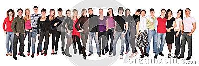 Young people group twenty two