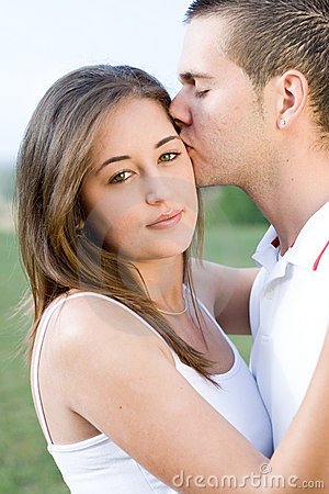 Young Love Picture on Stock Image  Young People In Love   A Lovely Beautiful Young Love