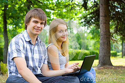Young people in the park 3