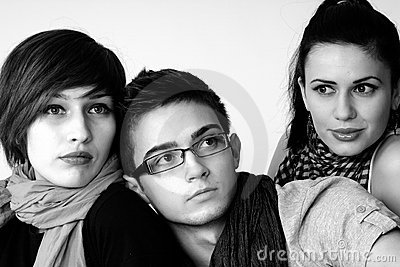 Young people portraits