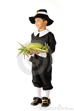 A Young Pilgrim s Thanksgiving Offering
