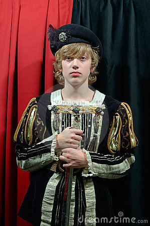 Young Prince of the 18th century