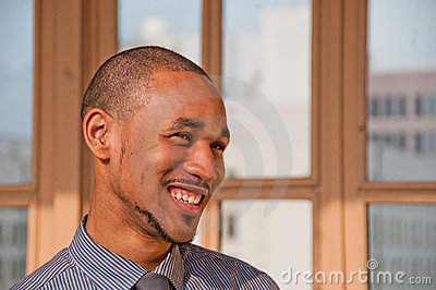 Young Professional African American Man