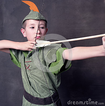 Free Young Robin Hood Royalty Free Stock Photo - 29719575