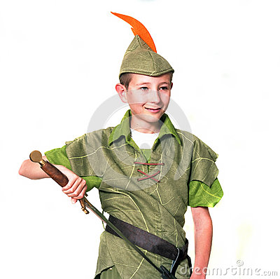 Free Young Robin Hood Royalty Free Stock Image - 33424216