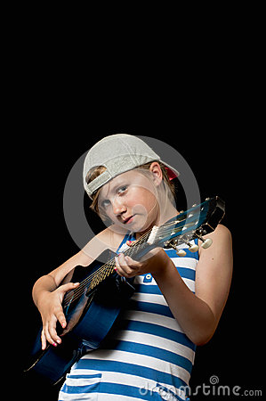 Young rock star