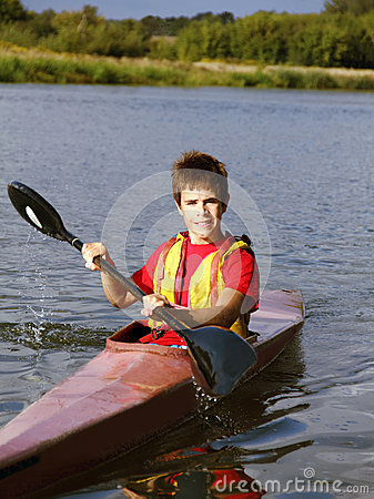 Young rower