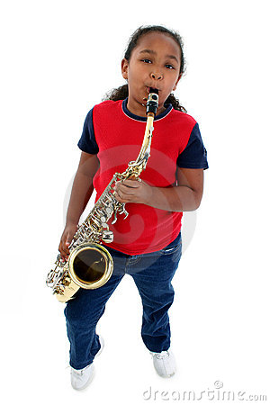Free Young Saxophonist Royalty Free Stock Photo - 8426305