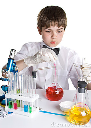 The young scientist